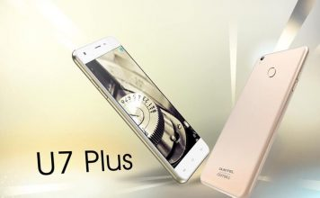 OUKITEL U7 Plus VS iPhone 6s Plus Details