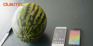 Oukitel U7 Plus and C4 faced Drop Crashing Test with Watermelon - Watch video here