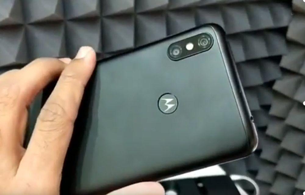 Moto P30 Note Design